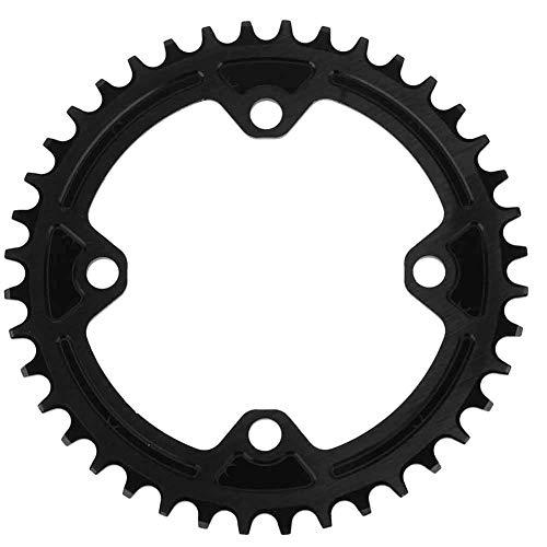 VGEBY1 Plato de Bicicleta, 104MM 40T 42T Anillos de Cadena de Bicicleta angosta y Ancha Compatible con Shimano Juego de bielas Ciclismo Plato Rueda Accesorio(40T(104BCD))