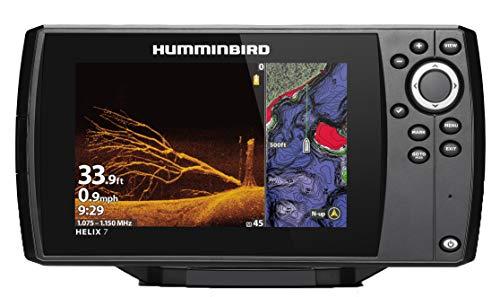Humminbird 410940-1NAV HELIX 7 CHIRP MDI (MEGA Down Imaging) GPS G3 NAV Fish Finder, Black