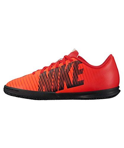 Nike Unisex-Kinder Mercurial X Vortex III Indoor Fußballschuhe, Rot Rot Schwarz Rot Schwarz, 36.5 EU