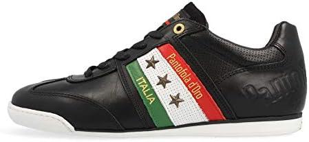 Amazon.com | Pantofola d'Oro Imola Romagna Flag Uomo Low | Fashion ...