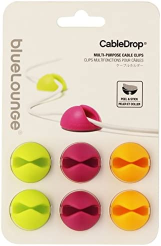 CableDrop Cable Clips Pack of 6 product image