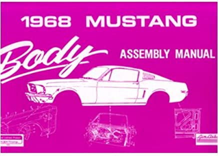 1968 FORD MUSTANG AND GT FACTORY OWNERS MANUAL
