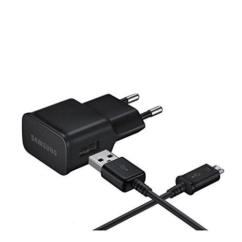 Samsung Ladegerät Micro-USB für Samsung Galaxy Geräte, schwarz