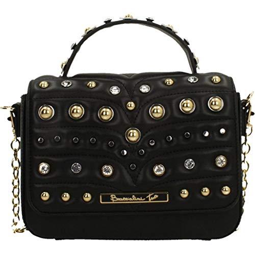 Braccialini Damen Handtaschen B12851 Schwarz Talla única