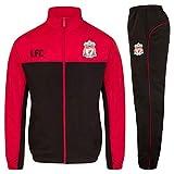 Liverpool FC - Herren Trainingsanzug - Jacke & Hose - Offizielles Merchandise - Geschenk für Fußballfans - Rot - XL