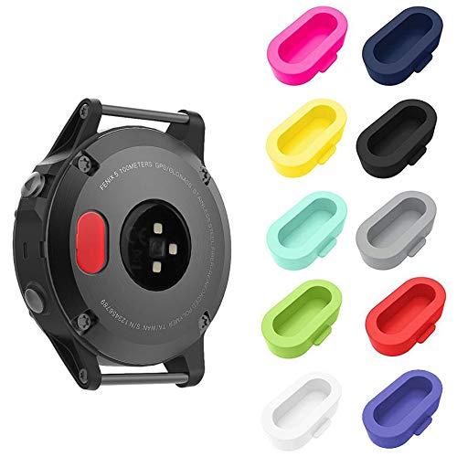 Find Bargain HJYuan 10 Pack Dust Plug Compatible with Garmin Fenix 5/5S/5X/6/6S/6X/6 Pro/6S Pro/6X P...