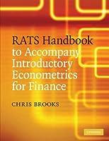 RATS Handbook to Accompany Introductory Econometrics for Finance