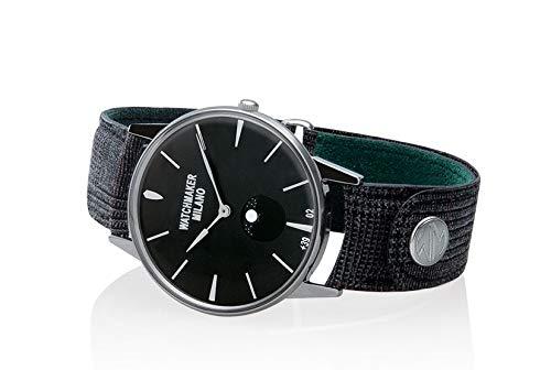 Watchmaker Milano Orologio Uomo Analogico da Polso Slim con Fasi Lunari...