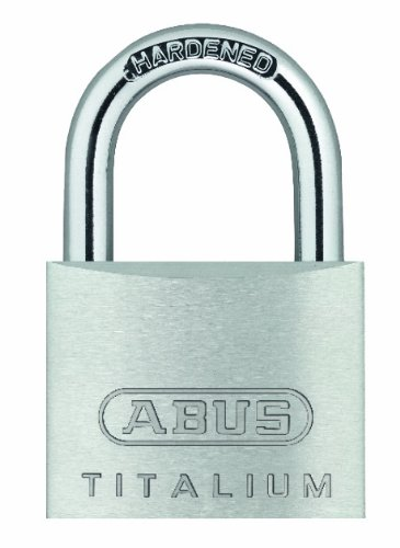ABUS 64TI/20 20mm Carded Titalium Padlock (Pack of 2)