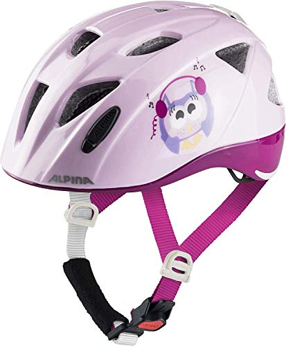 ALPINA XIMO FLASH Fahrradhelm, Kinder, happy-owles, 47-51