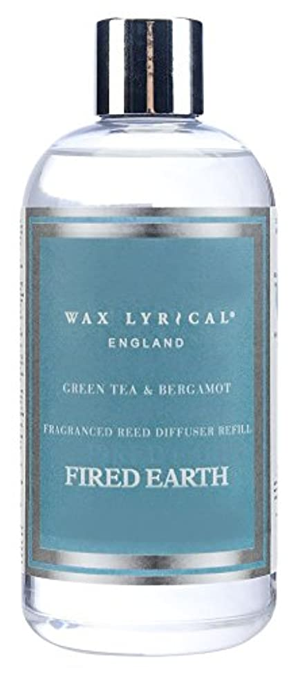 陰謀表示ブリッジWAX LYRICAL ENGLAND FIRED EARTH リードディフューザー用リフィル 250ml グリーンティー&ベルガモット CNFE0402