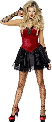 Smiffy's - Disfraz de vampiresa sexy para mujer, ideal para Halloween