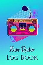 Ham Radio Logbook: Practical notebook for ham radio lovers | Guided logbook