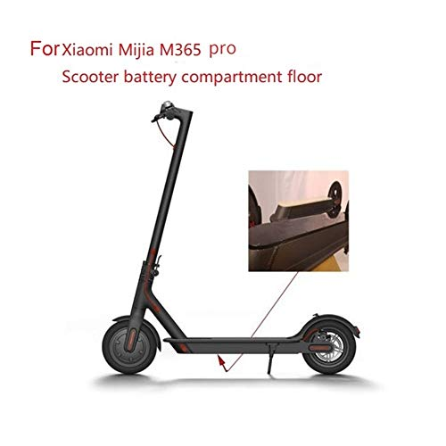 ZRNG Scooter Battery Compartment Cover Bottom Plate With Waterproof Ring Special Parts Fit For XIAOMI M365 Pro (Color : Black)