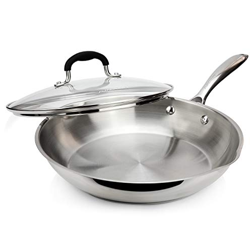 AVACRAFT 18/10 Stainless Steel Frying Pan