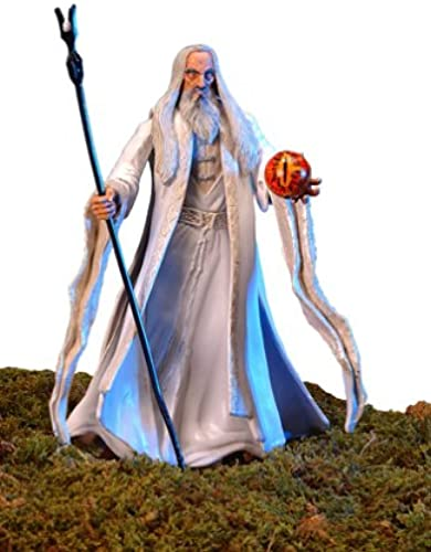 barato y de alta calidad Lord of of of the Rings  Two Towers - Saruman the blanco Action Figure (Staff-Raising Action and Eye of Magnetic Palantir)  alta calidad