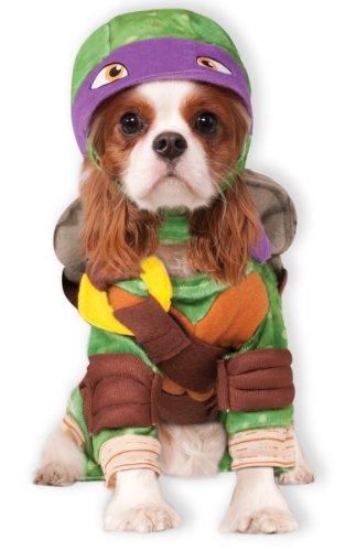 Rubie's Offizielles Hundekostüm, Donatello, Teenage Mutant Ninja Turtles, Größe M