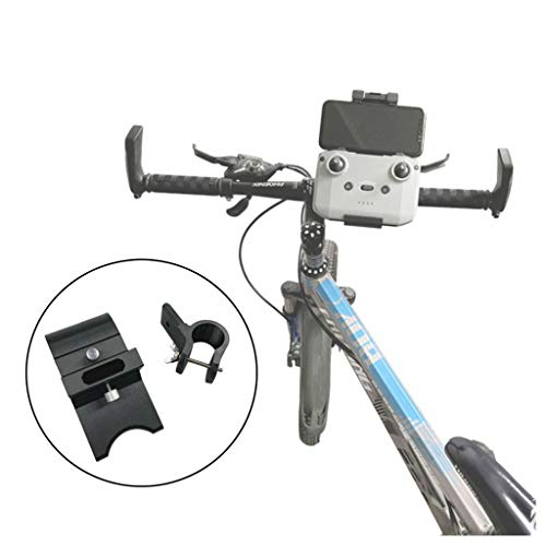 Hunpta@ Fernbedienung Handy Fahrradhalter für DJI Mavic Air 2, Kunststoff Fahrrad Feste Halterung für 21-27 mm Fahrradlenker Drohne Fernbedienung Fahrrad Erweiterungs Zubehör