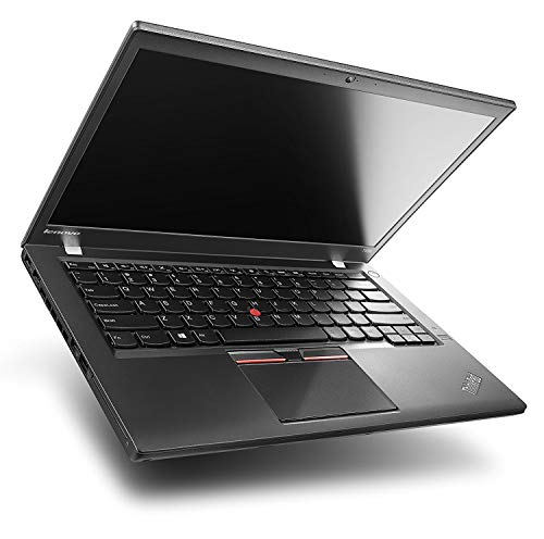 Lenovo ThinkPad T450s - Ordenador portátil de 14 pulgadas Full-HD, color negro (Intel Core i7-5600U / 2.60 GHz, 8 GB de RAM, disco SSD de 500 GB, Webcam, Windows 10 profesional)