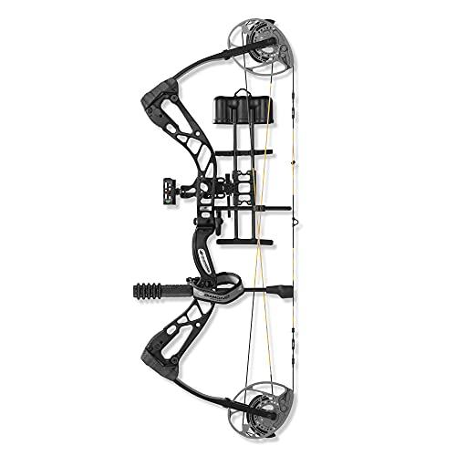 Diamond Archery Edge 320 Bow Compound Bow - Black - 70 lbs, Left Hand