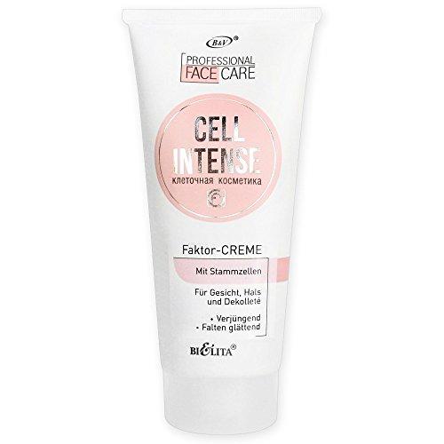 Belita-Vitex CELL INTENSE Crema Factor Anti-Aging con cellule staminali per viso, collo e decollété, 200ml