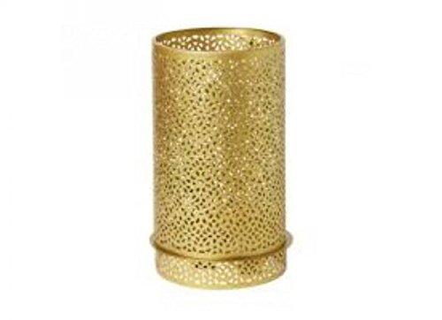 Duni Duni Kerzenhalter aus Metall für Maxi-Teelichte oder LED Bliss gold 200 x 120 mm 1 Stück