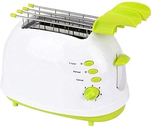 CattleBie Brotbackautomaten, 600W Ofen Ofen Appliance Heizung Thawing Toaster Brotbackautomaten Startseite Frühstück Toaster