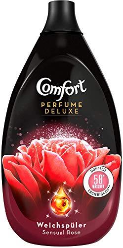 3 x Comfort Perfume Deluxe Sensual Rose je 870ml Weichspüler 174 Waschladungen