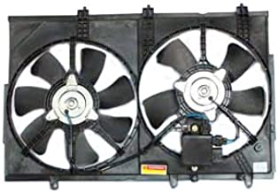 TYC 621820 Mitsubishi Outlander Replacement Radiator/Condenser Cooling Fan Assembly