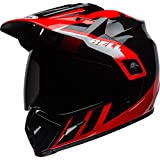 BELL HELMET MX-9 ADVENTURE MIPS DASH BLACK/RED/WHITE S