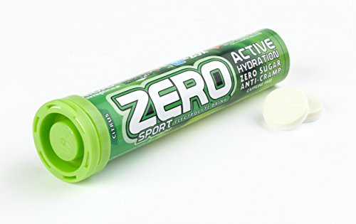 High5 Zero Electrolyte Sports Drink Tube of 20 tabs - Buy 1 Get One Free (Citrus Flavour)