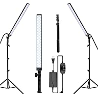 2-Pack Neewer Dimmable 5500K LED Video Light Stick Kit