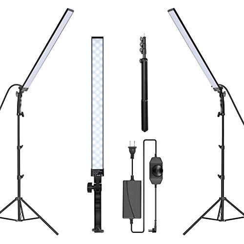 Neewer 2-Pack Photography Lighting LED Video Light Stick Kit...