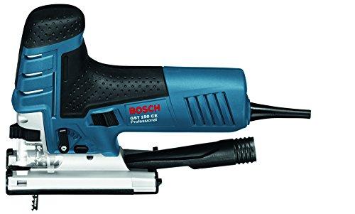 Bosch Professional GST 150 CE Stichsäge (mit 1 Sägeblatt T144D, max. 150 mm Schnitttiefe, 780 W, Koffer) 0601512000 - 2