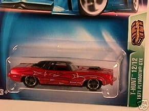 Hot Wheels Mattel 2003 Treasure Hunt 1:64 Scale Brown Plymouth GTX Cuda 12/12 Die Cast Car #012
