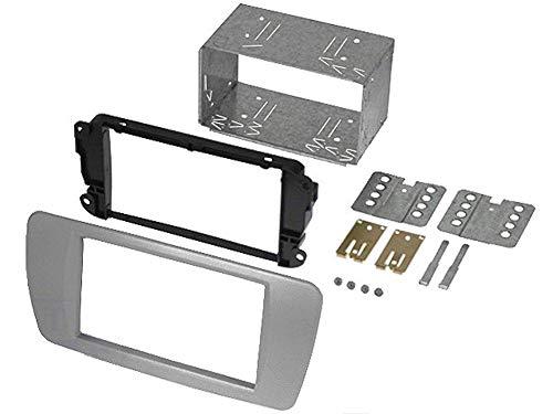 Kit 2Din compatible avec Seat Ibiza ap08 - gris conamera -AS2-