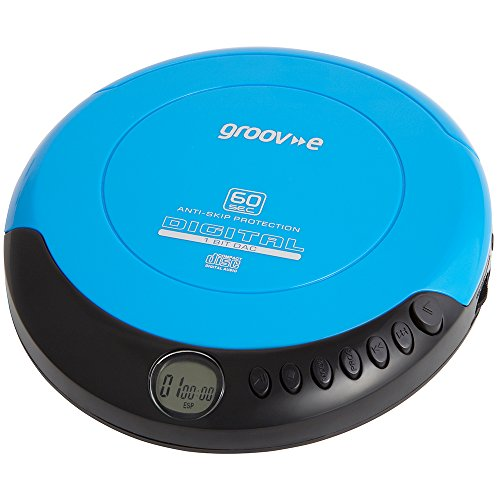 Groov-e Retro Series Personal CD Player - Blue