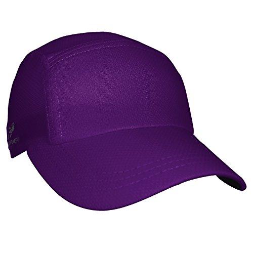 Headsweats Bonnet de Course Unisexe 7700-842, Violet, Taille OSM