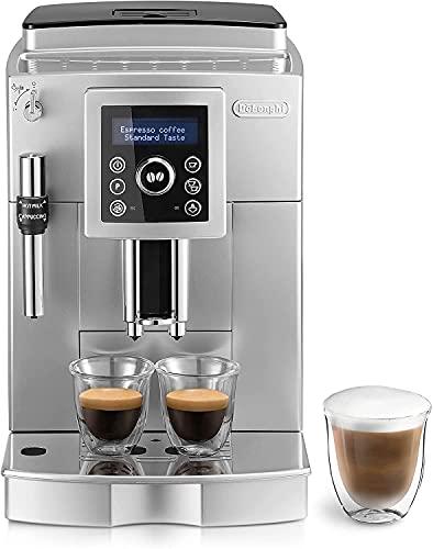 De'Longhi ECAM 23.420.SB Macchina da caffè Automatica, 1450 W, 2 Cups, plastica, Argento