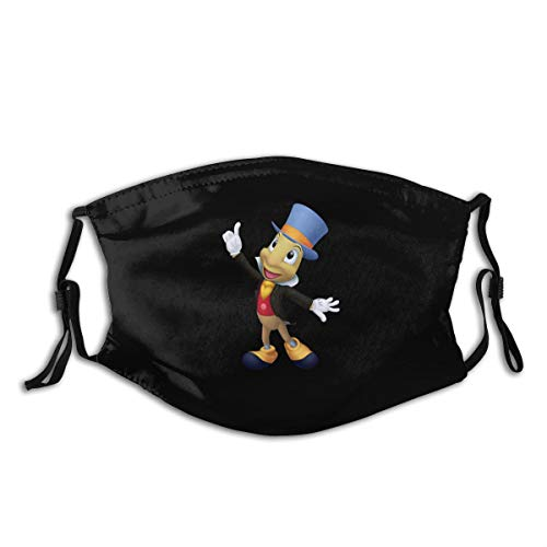Jiminy Cricket Boy's Face Masks Navy Cosplay Face Cover for Exercise
