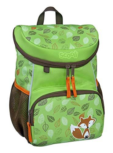Scooli Mini-Me Kindergartenrucksack - ergonomischer Rucksack für Kinder, mit abnehmbahren Brustgurt, 8l, für Mädchen und Jungen (Freddi Fox)