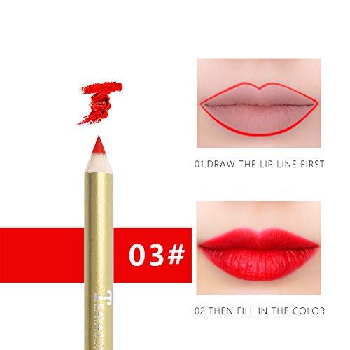 Ofanyia Professional Lipliner Wasserdichter Lip Liner Bleistift