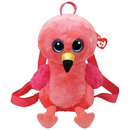 Ty 7195009 Fashion Rugzak Gilda Flamingo, 15cm x 12.5cm x 24cm, 3 Stuk
