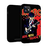 N / A AC-DC Schutzhülle für iPhone 11, 15,5 cm,