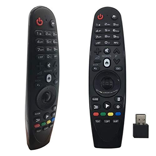 Foxrmt RM-G3900 Ersatz-Fernbedienung für LG Smart TV OLED G6 E6 C6 B6 MR18 MR600 MR650