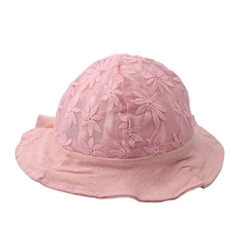 FENICAL Spitze Lässig Sonnenhut Blume Fischerhüte Sommer Frühling Caps Eimer Hut für Baby Infant