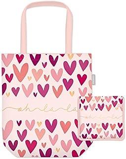 Grafik Werkstatt Einkaufstasche mit lustigem Spruch Shopping-Bag faltbar   leichte Tasche   Herz
