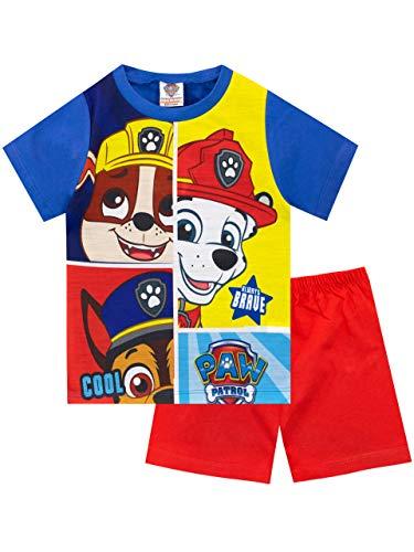 Paw Patrol Pijamas Manga Corta para Niños La Patrulla Canina Rojo 2-3 Años