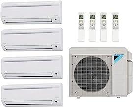 36,000 Btu 17.7 Seer Daikin Multi Zone Mini Split Heat Pump System - 9K-9K-9K-9K 4MXS36RMVJU - (4) FTXS09LVJU