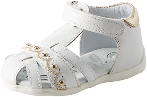 Chicco Mädchen Ginevra Sandalen, Weiß (Bianco-300 300), 21 EU